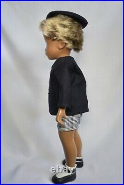 Sasha Doll 1967 No Nose Schoolboy With Original Clothing And Box. Very Rare