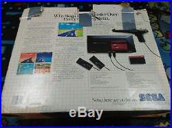 Sega Master System Console with original Box! Retro Gaming VERY RARE