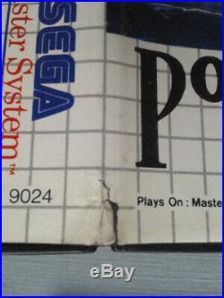 Sega Master System Power Strike II Complete In Box Cib Original & Genuine Rare+