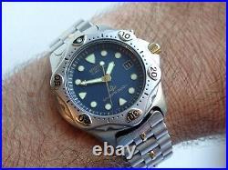 Seiko 200m Kinetic 5M42-0B60 Diver Scuba Original Box September 1995 Rare Find