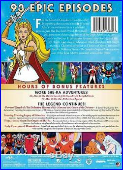 She-Ra Princess Of Power COMPLETE Original Series DVD BOX SET SEALED RARE HE-MAN
