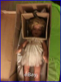 Shirley Temple Flirty Eyed 25 Composition Doll By Ideal in original box rare