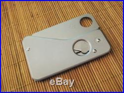Spyderco SC01P Spydercard knife discontinued RARE NEW IN BOX