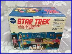 Star Trek MEGO Bridge (from 1977) Original Box RARE Captain Kirk Spock Bones