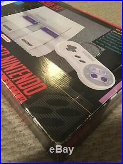 Super Nintendo SNES Console With Original Box Tested Working RARE No Styrofoam