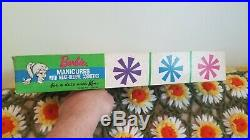 Super Rare 1962 My Merry Barbie Manicures set in box COMPLETE
