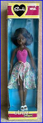 Super Rare Black Sindy Doll Never Removed From Original Box Not Gail Gayle