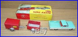 Super Rare Original Boxed Dinky 448 Chevrolet el Camino Pick Up With Trailers