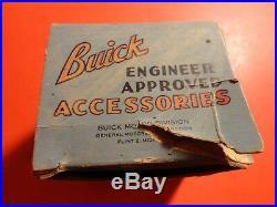 Super Rare Original NOS Buick Dinsmore Compass with Light In Original Box 981325