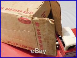Super Rare-vintagetonka-ramp Hoist Flat Bed Truck/original Boxpressed Steel