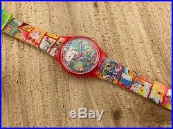 Swatch Originals Tokyo Manga GR133 NOS! Box/Paper/Tag Circa 1997 RARE