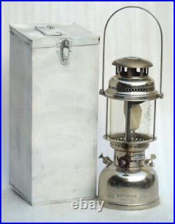 Swedish Original Optimus300 Cp Kerosene Lantern & Original Box Rare Lamp