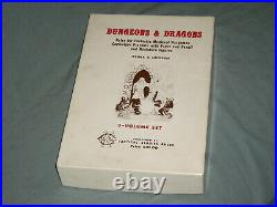 THE ORIGINAL TSR DUNGEONS AND DRAGONS WHITE BOX SET (ULTRA RARE and UNUSED!)