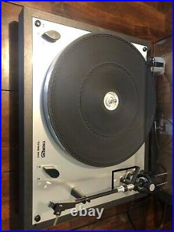 THORENS TD166 MK II TURNTABLE RECORD DECK. With Its Original Box From 1983 RARE