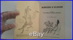 TSR Original D&D Set Woodgrain Box (1st Print) Very Rare