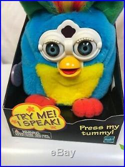 Talking Furby Buddies Kid Cuisine Rare Plush New Original Box 70-753 Nib 1999