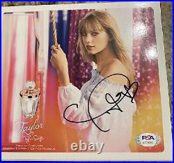 Taylor Swift Made Of Starlight Perfume Box Signed RARE PSA/DNA Folklore