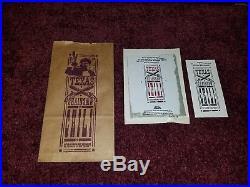Texas Chainsaw Massacre 2 Video Store Vhs Promo Promotional Kit Box Super Rare