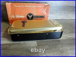The Fabulous Wondergram Vintage Record Player In Original Box Rare