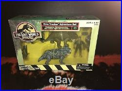 The Lost World Jurassic Park Dino Tracker Adventure Set In Original Box RARE