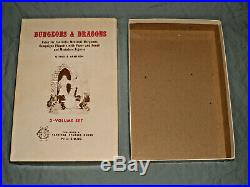 The Original DUNGEONS AND DRAGONS WHITE BOX SET (ULTRA RARE HOBBITS EDITION!)