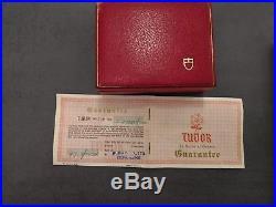 Tudor Very Rare Submariner Reference 7928 Full Set Box And Original Paper