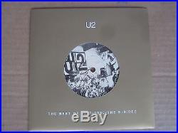 U2 Best of 1980-1990 RARE 14x 7 45 RPM & 2x CD ORIGINAL UK PROMO ONLY BOX SET