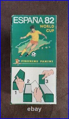 ULTRA RARE! Original Panini Espana'82 1982 sealed box (full) mint