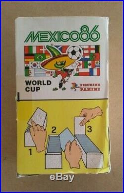ULTRA RARE! Original Panini Mexico'86 1986 sealed box (full) excellent