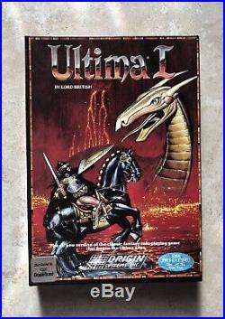 Ultima 1 PC 1986 Original Box CIB Ultima I Origin/Broderbund RARE Complete