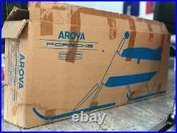 Ultra RARE 1970 Porsche Arova 212 Skibob with ORIGINAL BOX ORANGE VERSION