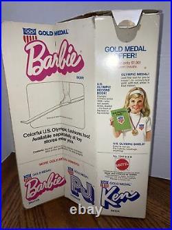 VINTAGE Olympic Barbie 1974 GOLD MEDAL SKIER #7264 RARE Original Box Mattel