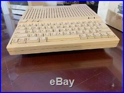 Very Rare Apple IIc Plus Computer With Original Box And Packing-TESTED & WORKING