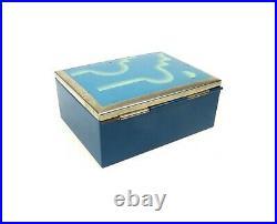 Very Rare Bauhaus Avantgarde Art Deco Case 1925 Metal Box Suprematism Enamel