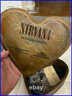 Very Rare Nirvana The Songs Of Kurt Cobain 5 Disc Heart Shaped Box #371/500