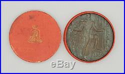 Very Rare Original Berlin 1936 Olympia/Olympics Participation Medal orig. Box