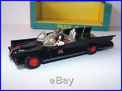 Very Rare Original Polistil Art 34 Batmobile Holy Grail Boxed (z238)