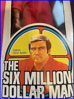 Very Rare Tolstoys Six Million Dollar Man Action Boxed Inc V8 Engine Block