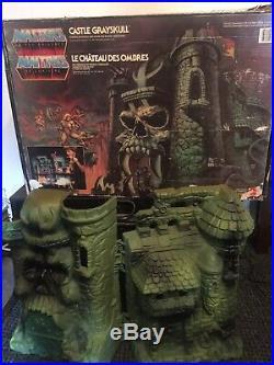 Very Rare Vintage He Man Castle Of Grayskull Inc Original Multi Language Box