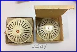 Very Rare Vintage Nos Audax F19 Pw10 Full Range Speakers Original Boxed