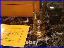 Veuve Clicquot Ponsardin Champagne Vcp Trendy Flutes Glass Box Of 6 Very Rare