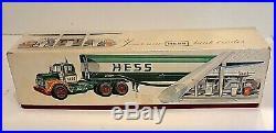 Vintage 1967 HESS Red Velvet Truck RARE with Box