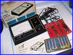Vintage 1970's SEARS box auto tune tester gauge tool original gm street rat rod