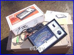 Vintage 1970's SEARS nos box auto tune tester gauge original gm street rat rod