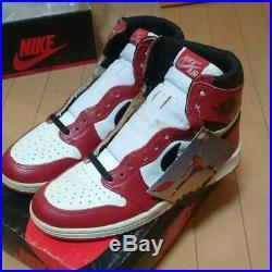 Vintage 1985 Nike Air Jordan 1 Chicago Original Shoes Us9 With Box Very Rare