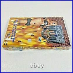 Vintage 1999 Topps WCW NWO NITRO Pro Wrestling Trading Cards Rare RED BOX Packs