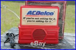 Vintage AC Delco am fm Original Rare Radio GM promo auto 110 volt