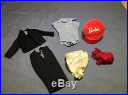 Vintage Barbie Commuter Clothing Lot 1960s with Rare Hat Box