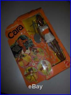 Vintage Barbie Mattel Free Moving Cara #7283 Rare 1975 Near Mint In Box Mib