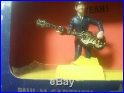 Vintage Beatles Subbuteo Figures With Box! 1964 Complete Set Super Rare! Look